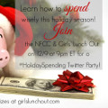 You're Invited! Join the #HolidaySpending Twitter Party!