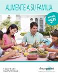 Alimente a su familia por solo $5.55