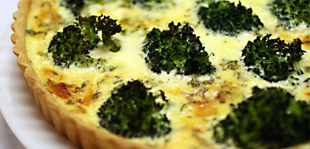 Broccoli Quiche for $5.22