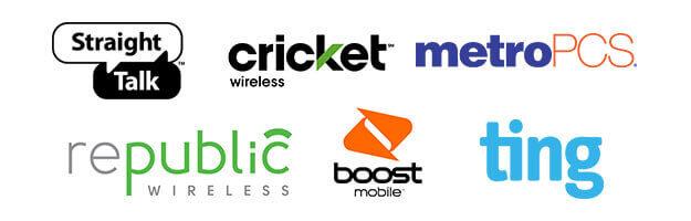 Prepaid Cell Phone Company Logos
