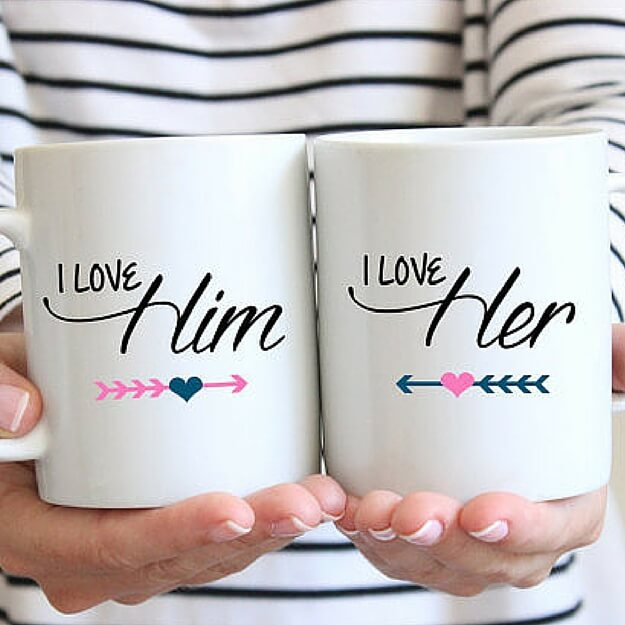 Matching Coffee Mugs