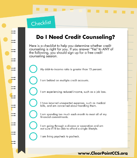 Credit Counseling Checklist