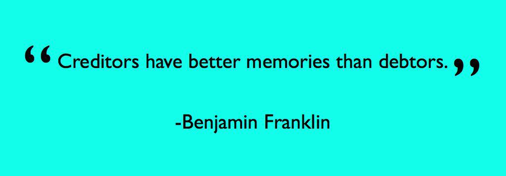 Creditors Memory