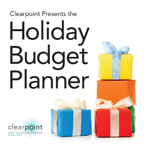 holiday budget planner clearpoint credit counseling