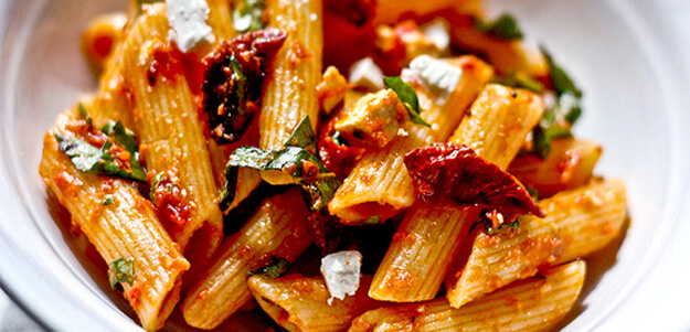 "Featured image for ""Pasta with Roasted Tomato Sauce for $5.13"""