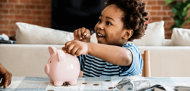 5 Fun Ways to Introduce Kids to Saving