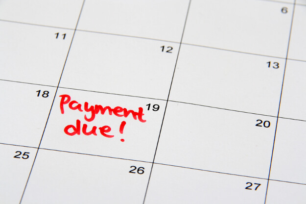 Payment Reminder on Calendar