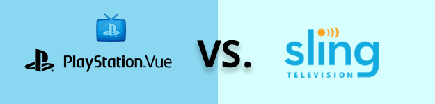 PS Vue vs. Sling