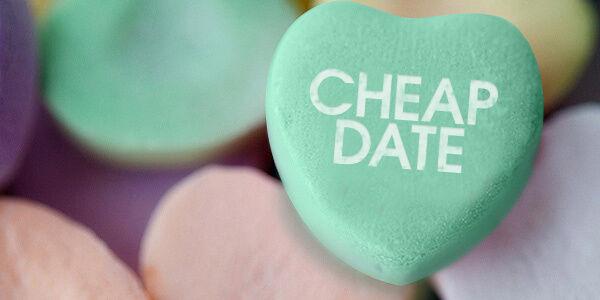 Sweetheart candy cheap date