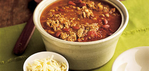 Turkey Chili for $5.46