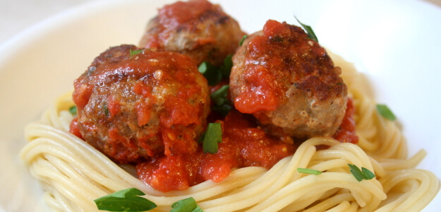 "Featured image for ""Turkey Meatballs with Tomato Sauce for $5.55"""